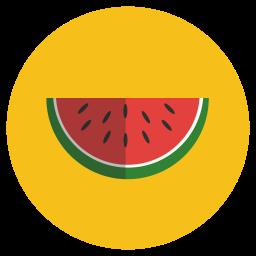 fresh, healthy, vegetable, watermelone icon