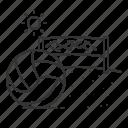 ball, beach, sport, summer, volley icon