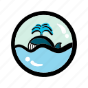 ocean, sea, summer, whale icon