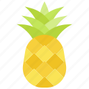 summer, pineapple, food, fruit icon