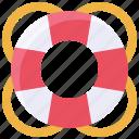 lifebelt, lifebuoy, ring buoy, safety, summer, water wheely icon