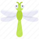 bug, dragonfly, insect, summer icon