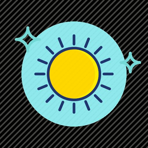 beach, hot, summer, sun, sunny, vacation, vibes icon