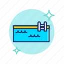 beach, pool, summer, swimming, swimmingpool, vacation, vibes icon