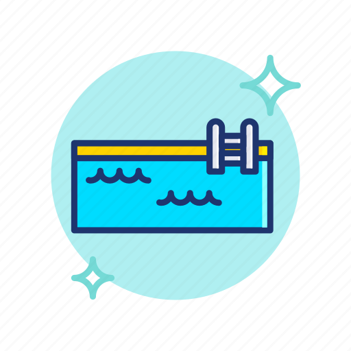 Beach, pool, summer, swimming, swimmingpool, vacation, vibes icon - Download on Iconfinder