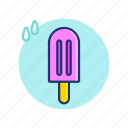 cream, fresh, ice, icecream, summer, sweet, vibes icon