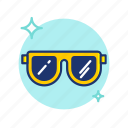 beach, cool, glasses, summer, sun, sunglasses, vibes icon