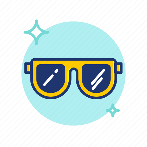 Beach, cool, glasses, summer, sun, sunglasses, vibes icon - Download on Iconfinder