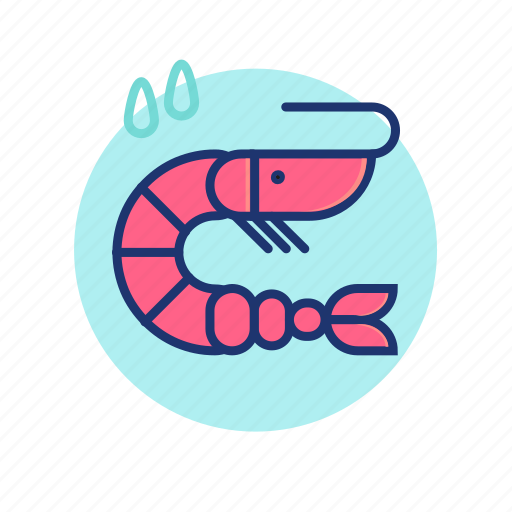 Cocktail, food, prawn, sea, seafood, summer, vibes icon - Download on Iconfinder