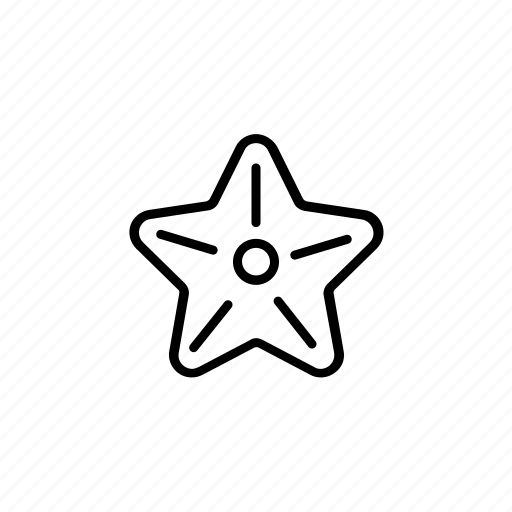 Beach, fish, sea, star, starfish, summer, vibes icon - Download on Iconfinder