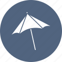 beach, shade, summer, umbrella icon