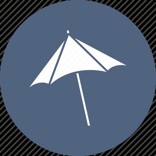 beach, shade, summer, umbrella icon