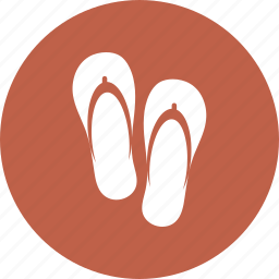beach, holiday, slippers, summer, travel, vacation icon