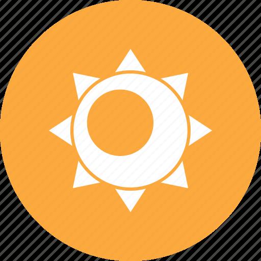 summer, sun, sunlight icon