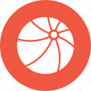 ball, beach, summer, vacation icon