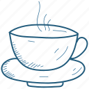 cup, hot, tea icon