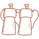 hunter, telescope icon