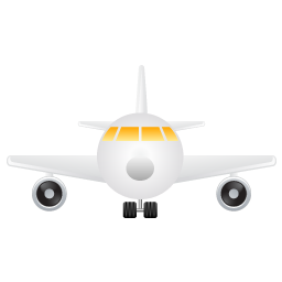 Aeroplane, airplane, fly, travel icon