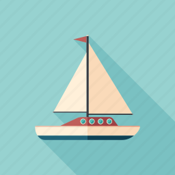 boat, marine, sailboat, sailing, ship, yacht, yachting icon