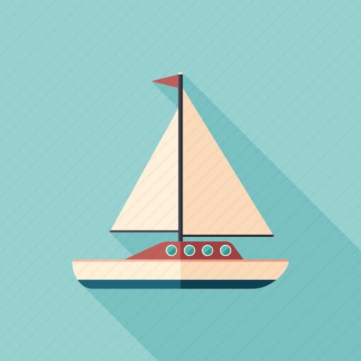 boat, marine, sailboat, sailing, ship, yacht, yachting icon