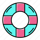 beach, holiday, pool, summer, vacation icon