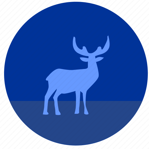 animal, deer, finland, land, nature, suomi, wild icon