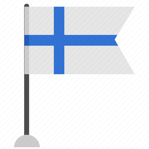 colors, country, finland, flag, material, national, suomi icon