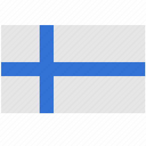 colors, country, finland, material, national, suomi icon