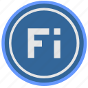 country, finland, language, material, round, select, suomi icon