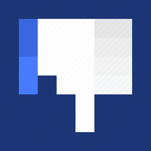 dislike, finger, hand, hate, like, pixelated, thumbs down, unlike, vote, voting icon
