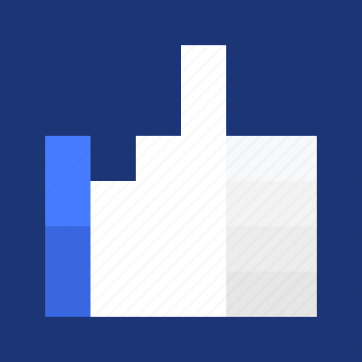 best, facebook, favorite, hand, heart, like, like us, likes, on, pixelated, star, thumb, thumbs up, up, vote, voting icon