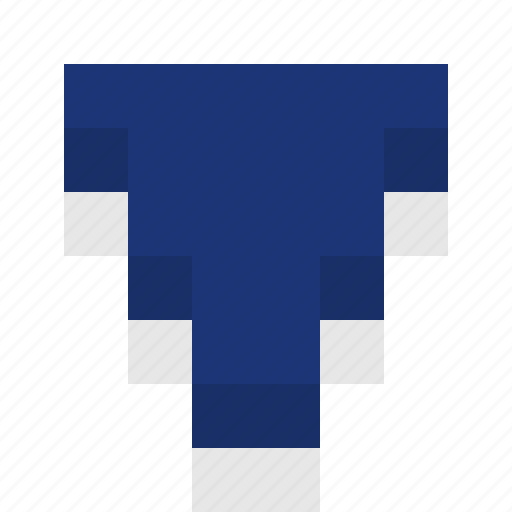 arrow, down, download, file, minecraft style, move down, ned, pixelated, pointing down icon