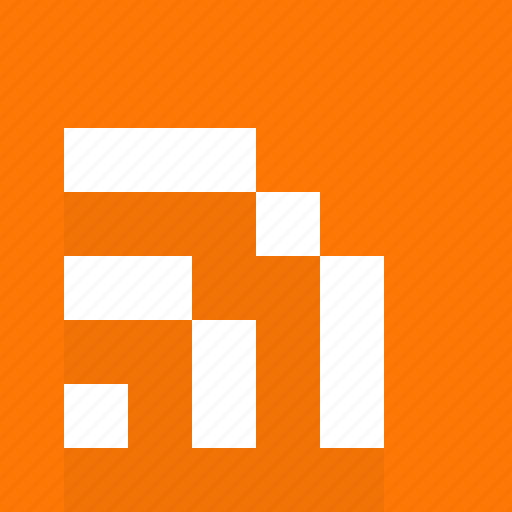 feed, file, html, media, multimedia, news, orange, rss icon