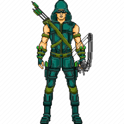 arrow, green arrow, hero, oliver queen, star city, super hero, super human icon