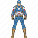 captain, captain america, civil war, hero, super hero, super human, the first avenger icon