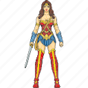 gal gadot, hero, princess diana, super hero, super human, super woman, wonder woman icon