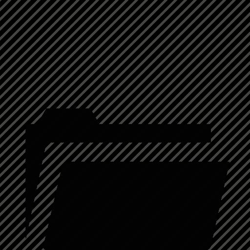 archive, directory, document, file, folder, location, open icon