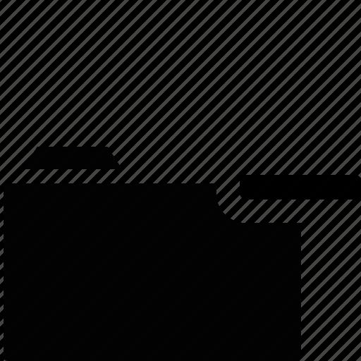 archive, directory, document, file, folder, location, remove icon