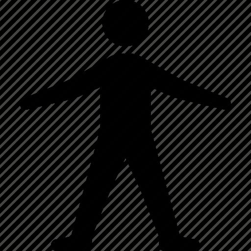 avatar, man, person, sign icon
