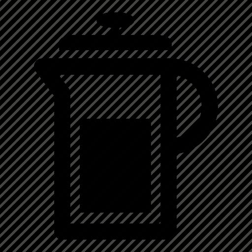drink, kitchen, tea, teapot, water icon