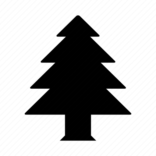 christmas, conifer, plant, snow, snowflake, tree icon