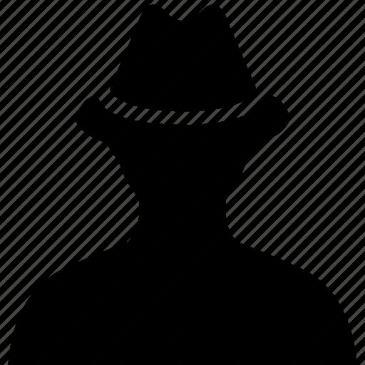 avatar, detective, user icon