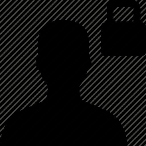 avatar, lock, safe, security, user icon