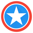 america, captain, captainamerica, hero, saver, super, superhero icon