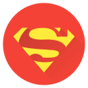 earth, man, saver, super, superhero, superman icon