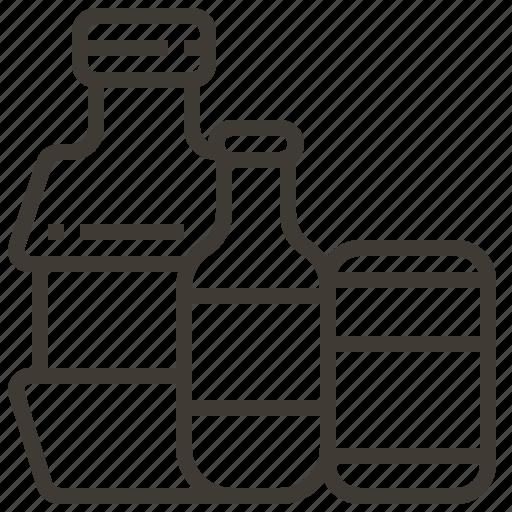 bottle, commerce, market, retail, sale, store, supermarket icon