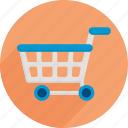 cart, market, shopping, shopping cart, supermarket icon