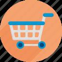 cart, market, shopping, shopping cart, supermarket