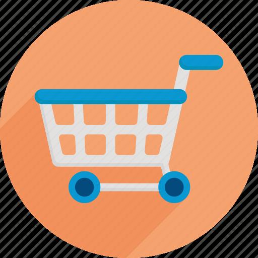 cart, market, shopping, shopping cart, supermarket icon