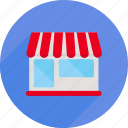 market, shop, shopping, store, supermarket, tent icon